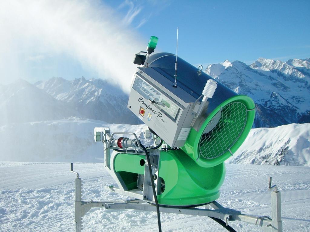 Sufag-kanon som producerar snö